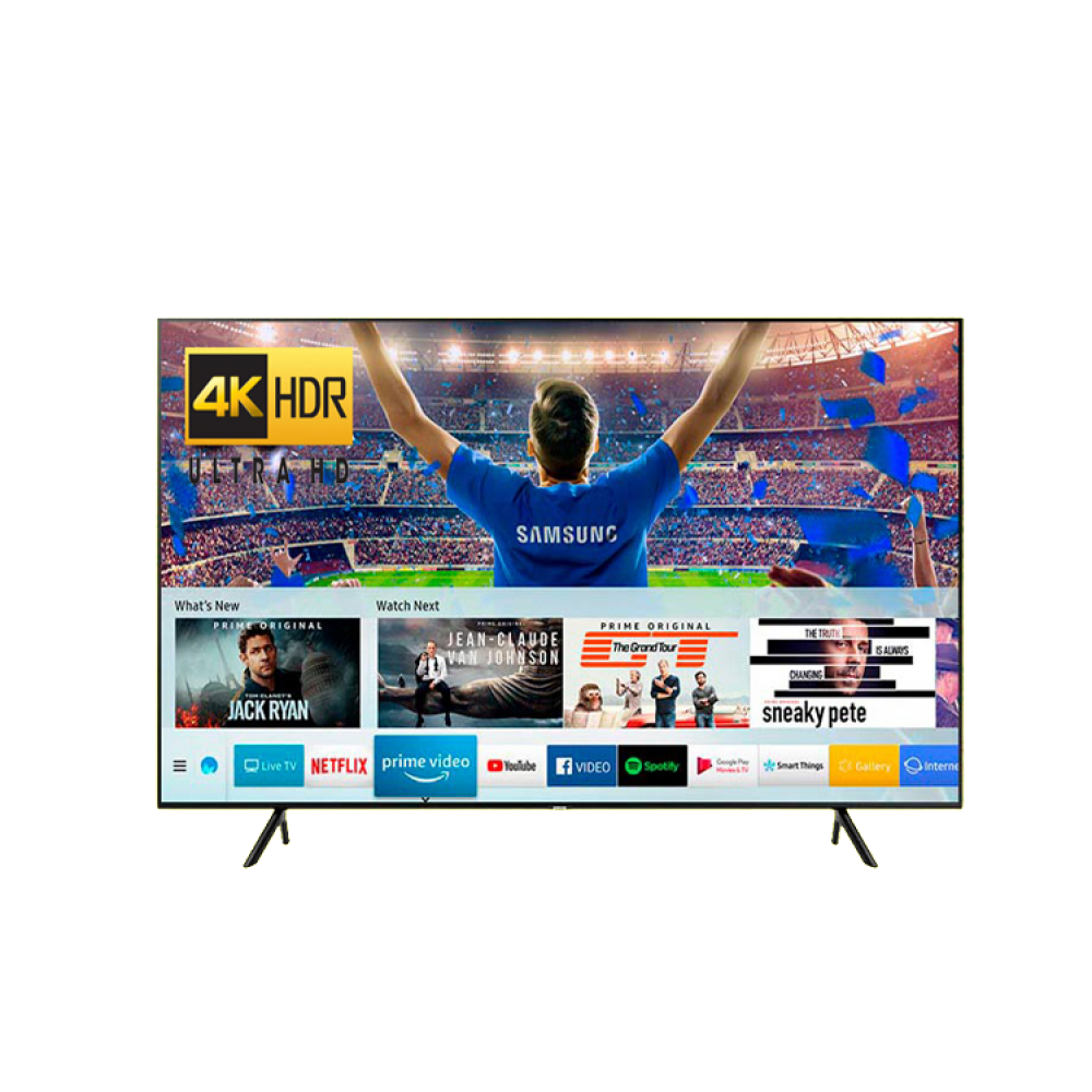 SAMSUNG 49 NU7100K 4K UHD SMART HDR FLAT TV